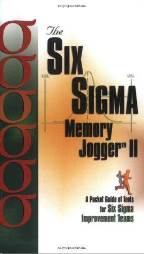 Six Sigma Memory Jogger II: A Pocket Guide by Michael Brassard (2002-12-31)
