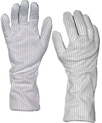 Transforming Technologies GL9102 - GL9100 Series Polyester ESD-Safe Hot Gloves - 14'' - Medium - Pair