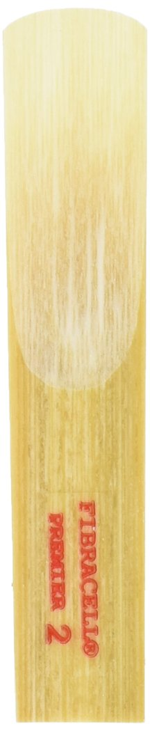 Fibracell FCBSP2 Premier Series Synthetic Reed for Baritone Saxophone, 2 Strength