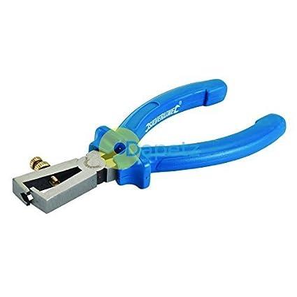 dapetz electricistas 160mm Ajustable Cable pelacables Alicates Eléctrico cortador