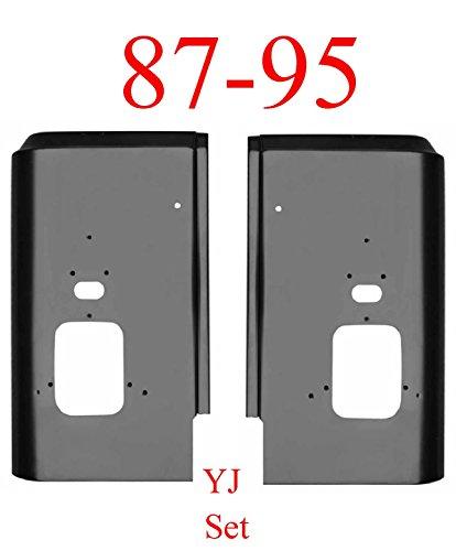 Set Corner Rear (87-95 Jeep Wrangler YJ Rear Corner Set)