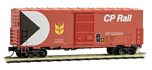 Micro-Trains MTL N-Scale 40ft SD Box Car Canadian Pacific/CP Rail (Red) #122936 Canadian Pacific Cp Rail