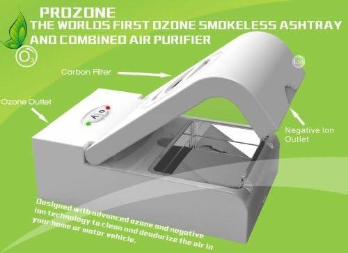 PROZONE Cenicero Generador Ozono Ionizador Purificador de Aire ...