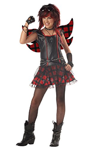 [8eighteen Rebel Fairy Tween Punk Rock Costume] (Punk Fairy Costumes)