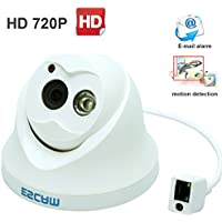 Escam OWL QD100 HD720P P2P Cloud Dome IP Camera 3.6mm Lens 10m IR Range Day Night Vision Home Security Surveillance Monitoring
