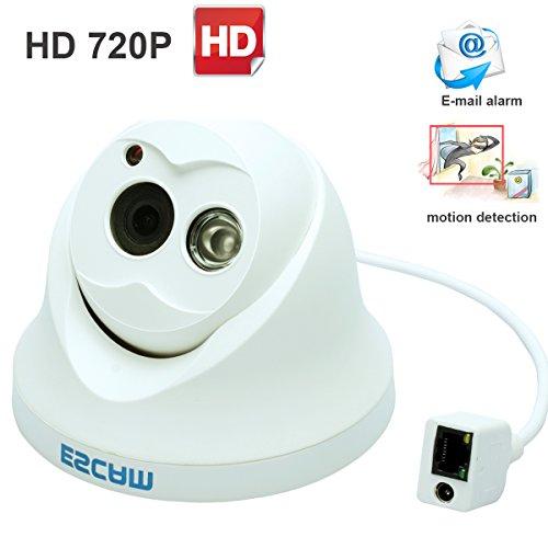 Escam OWL QD100 HD720P P2P Cloud Dome IP Camera 3.6mm Lens 1