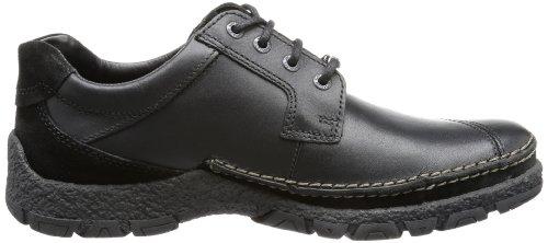 camel active Bormio GTX 11 334.11.04 - Zapatos de cuero para hombre Negro (Schwarz (Black))