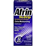 Afrin No Drip Extra Moisturizing Pump Mist 15 ml - Pack of 6
