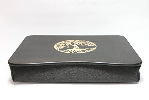 Wood Laptop Stand / Breakfast Tray / Wooden Laptop Bed Tray / Serving Tray / iPad Table / Pillow Tray ''Tree of Life''