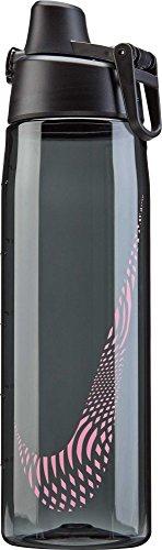 Nike Tritan 24 oz. Water Bottle (24 oz, Anthracite/Hot Punch)