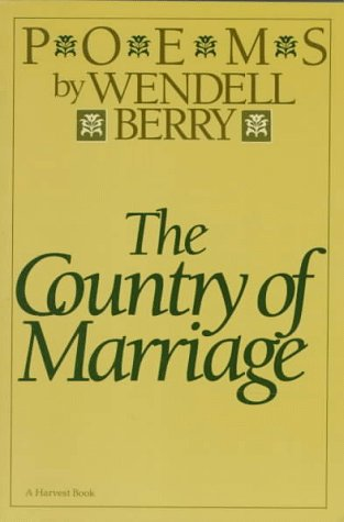 Cover of The Country of Marriage: Poems