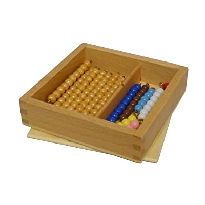 Elite Montessori Bead Bars for Teen Board with Box: Toys & Games