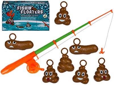 Horror-Shop Juego De Pesca De Pila De Mierda 7 Piezas: Amazon.es: Juguetes y juegos