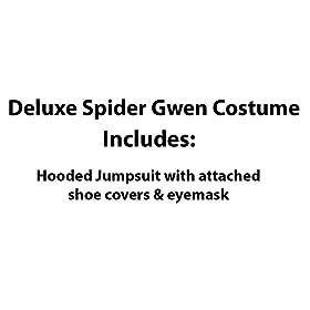 - 41ETXRL2LoL - Marvel Rising: Secret Warriors Deluxe Spider Gwen/Ghost Spider Costume, Large