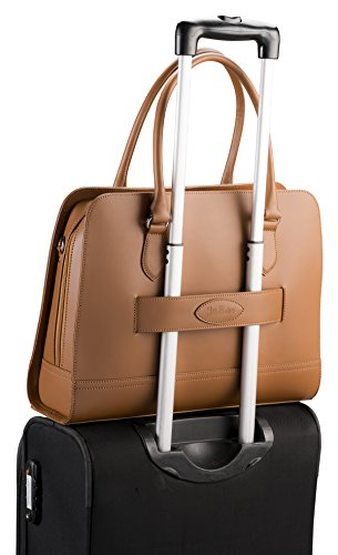 5cf51d8ef2 Su.B.dgn 13.3 Inch Laptop Bag with Trolley Strap for Women