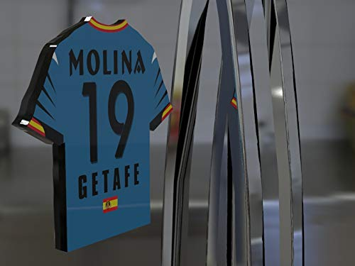 Imán para frigorífico con diseño de camiseta de fútbol de la ...
