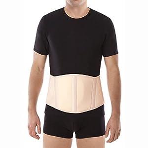 "UFEELGOOD Ergonomic Umbilical Navel Hernia Belt (New Model) / Abdominal Support Brace - Small, Waist/Belly 35½"" - 39½"" Beige"