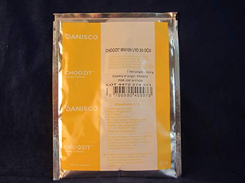 Danisco MM 100 or 101, 50 DCU (For Making Brie, Camembert, Gouda, Havarti, Edam, Feta and Chevre Cheeses)