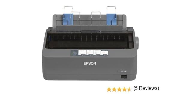 Epson LQ-350 - Impresora matricial (24 Pines, USB 2.0, 200-240 V), Color Gris