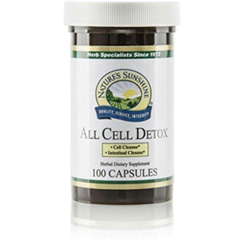 Natures Sunshine Detox - All Cell Detox (Improved)