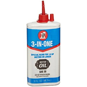 3-IN-ONE 100454 Motor Oil 3 oz (Pack of 1)