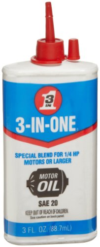 3-IN-ONE 100454 Motor Oil 3 oz (Pack of 1) (20 Motor Oil)