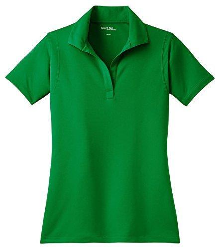 Sport-Tek Ladies Micro pique Sport Wick Polo Sport Shirt, Kelly Green, XX-Large by Sport-Tek