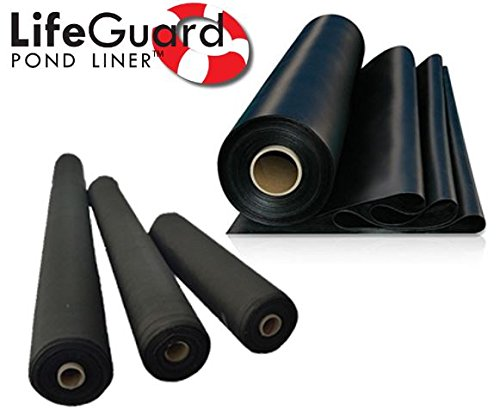 Anjon LifeGuard 8 ft. x 10 ft. 45 Mil EPDM Pond Liner and Underlayment Combo (Skimmer Kit Guard)