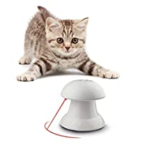 Automatic Rotating Light Interactive Toy Entertainment Exercise For Cats and Dogs