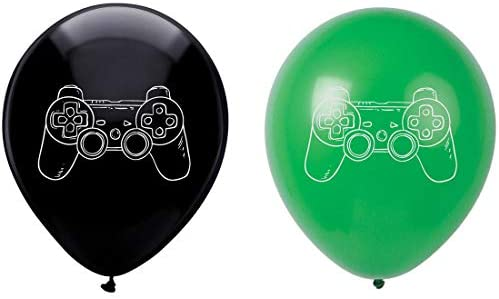 [해외]Video Game Latex Balloons 16-Pack 12inch Gaming Birthday Party Decorations Supplies / Video Game Latex Balloons 16-Pack 12inch Gaming Birthday Party Decorations Supplies