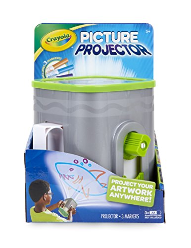 41ETbvJ41oL - Crayola Picture Projector, Night Light Projector, Kids Flashlight, Gift, Ages 5, 6, 7, 8