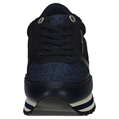 Retro Metallic Midnight Baskets Navy Runner Tommy Femmes Hilfiger wREvqv