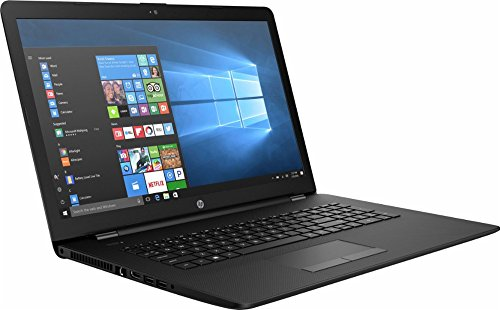 2017 HP 17.3″ HD+ (1600 x 900) Flagship Premium Laptop PC, AMD A9-9420 Dual-Core, 8GB DDR4, 1TB HDD, DVD RW, Bluetooth 4.2, RJ-45, Webcam, 2 USB 3.1, HDMI, Windows 10 (Black)