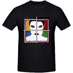 The Motels All Four One Summer T Shirts For Men Round Neck Black