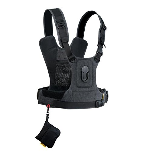 Cotton Carrier G3 1 Camera Harness Gray by Cotton Carrier Camera Systems