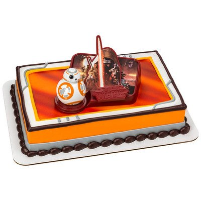 DecoPac Star Wars The Force Awakens DecoSet Cake Topper