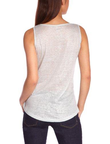 Freesoul P71322 - Camiseta con cuello asimétrico para mujer Blau - Bleu (Pastel Blue)