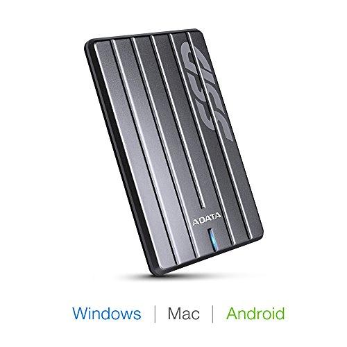 ADATA ASC660H-512GU3-CTI SC660H 512GB Ultra-Slim USB 3.1 External Solid State Drive by ADATA (Image #4)