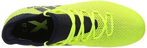 Adidas Scarpe Uomo X 17.2 Fg Calcio Multicolore (giallo Solare / Inchiostro Leggenda F17 / Inchiostro Leggenda F17)