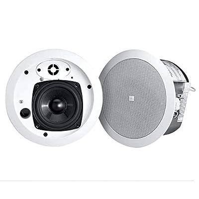 Image of 2 JBL Control 24CT Micro Plus 4' 70V 25w Commercial/Restaurant Ceiling Speakers Bookshelf Speakers