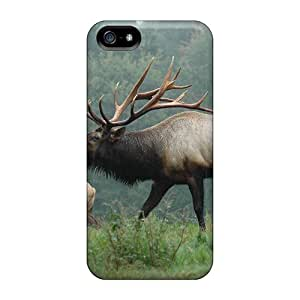 Faddish Phone Elk Bugles Case For Iphone 5/5s / Perfect Case Cover