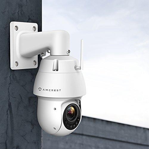 Amcrest 1080P PTZ PoE+ Camera Pan Tilt Zoom Wireless Security Camera 328ft Night Vision, IP66 Weatherproof, 2-Megapixel, IP2M-858W