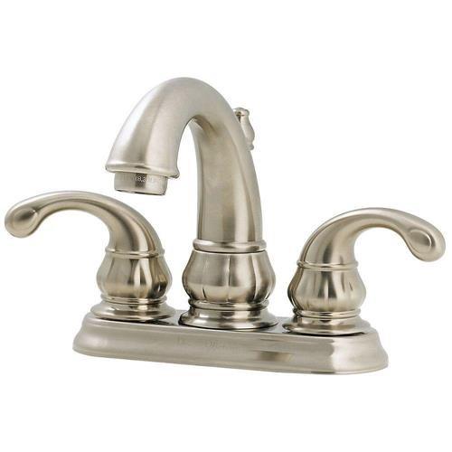 Treviso Double Handle Centerset Standard Bathroom Faucet Finish: Brushed Nickel