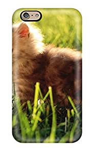 Jonathan Jo. Marks's Shop New Style 4532686K98822017 Kitty Exploring The Lawn Durable Iphone 6 Tpu Flexible Soft Case