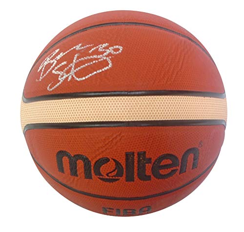 Team Basketball Signed (Seattle Storm Breanna Stewart Autographed Hand Signed FIBA Molten Basketball with Proof Photo of Signing, United States Woman's National Basketball Team, Connecticut Huskies, COA)