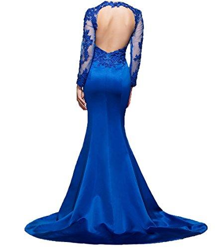 Charmant Langes Schwarz Langarm Abendkleider mit Spitze Etuikleider Brautmutterkleider Abschlussballkleider Damen Promkleider 1Ox1wBZTq