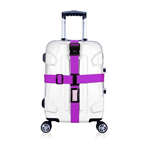 BlueCosto Luggage Straps Suitcase Travel product image
