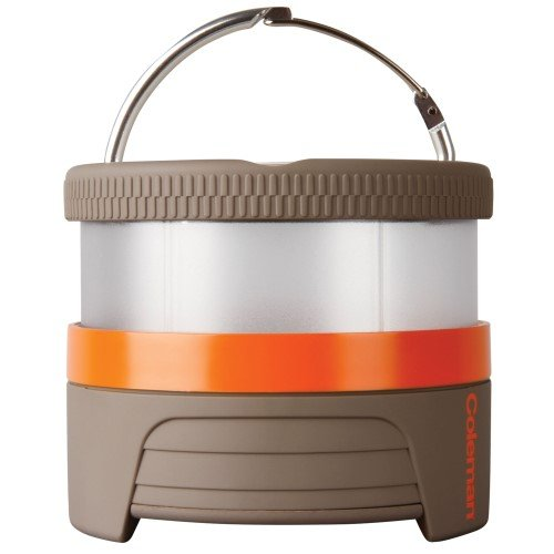 Pack Away Battery Coleman (Coleman Company Li-Lion Pucklit Lantern, Orange)
