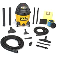 Shop-Vac 9623810 2.5-Peak Horsepower Industrial Wet/Dry Vacuum, 12-Gallon