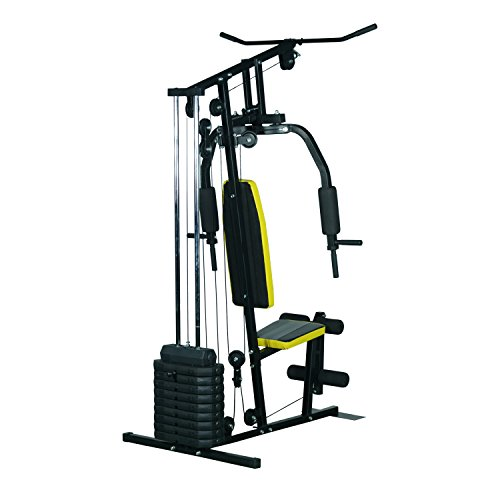 Soozier 100 lb Stack Home Gym Exercise Equipment Machine